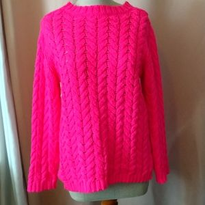 American Eagle Outfitters Pink Sweater Size L